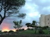 Apulien. Abendstimmung am Castel del Monte