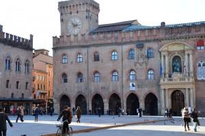 Piazza Maggiore Zum Vergrößern: Klick auf das Foto