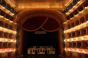Bühnenbild zur Oper Jenufa