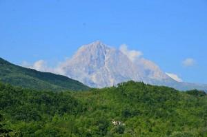 Gran Sasso d'Italia Zum Vergrößern: Klick auf das Foto