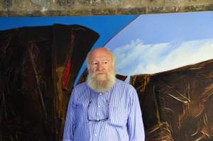 Nino Di Simone in seinem Atelier Zum Vergrößern: Klick auf das Foto