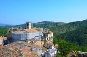 Blick auf Castelli vom Hotel Art'é Zum Vergrößern: Klick auf das Foto
