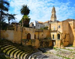 Lecce:RömischesTheaterZum Vergrößern: Klick auf das Foto