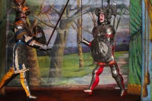 Ritterlicher Zweikampf, Marionetten-Museum