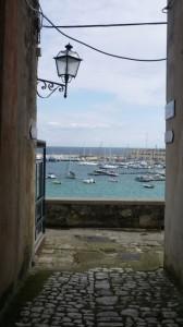 Ausblick auf den Hafen von Otranto