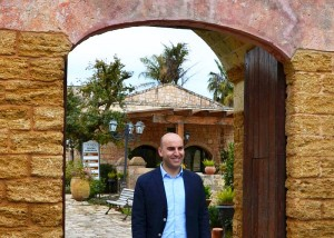 Pierangelo Argentieri, Direktor der Tenuta Moreno Zum Vergrößern: Klick auf das Foto