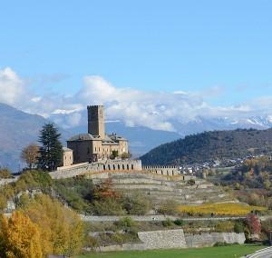 Burg von Sarre Zum Vergrößern: Klick auf das Foto