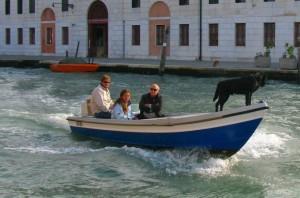 Schifffahrt auf dem Canale di Cannaregio Zum Vergrößern: Klick auf das Foto