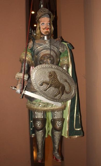 Ein Paladin des Kaisers, Marionetten-Museum