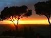 33-Sonnenuntergang am Castel del Monte