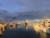 Abendgruss aus dem fischer Hafen, Ravenna