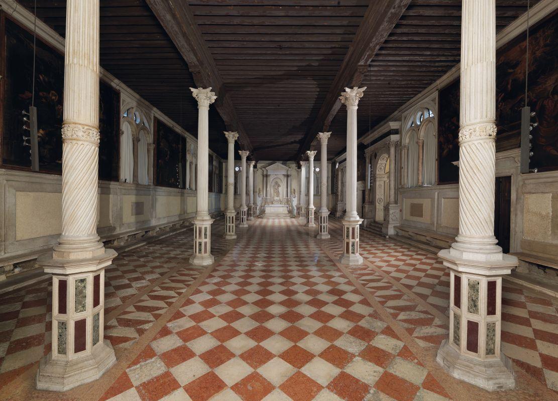 Sala terrena, Scuola Grande di San Rocco, Venezia
