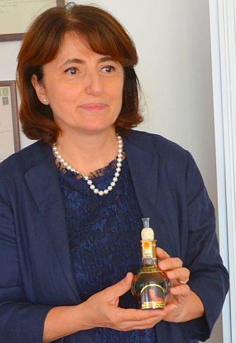 Modena: Mariangela Grosoli,Acetaia Del Duca in Spilamberto