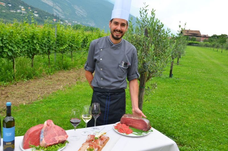 """Garda Trentino: ein Gebiet wie ein leckeres Menü, """"Madonna delle Vittorie"""""""