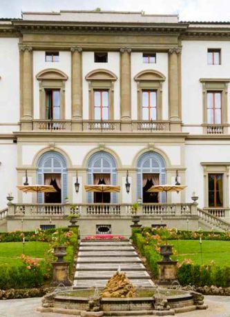 Florenz: Villa Cora