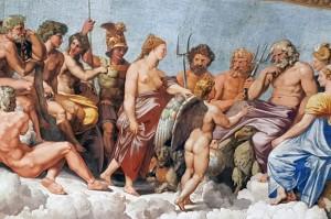 Raphael, Amor und Psyche, Villa Farnesina, Rom