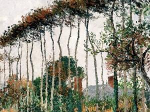 "Camille Pissarro, Les grands hetres a Varengeville"""
