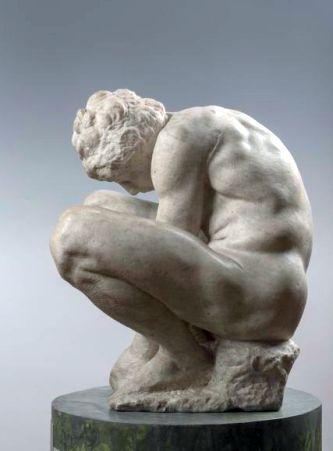 """Der """"Adolescente"""" von Michelangelo"""