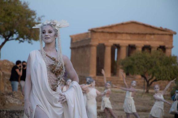 Agrigent: Sonnenaufgang über dem Tal der Tempel
