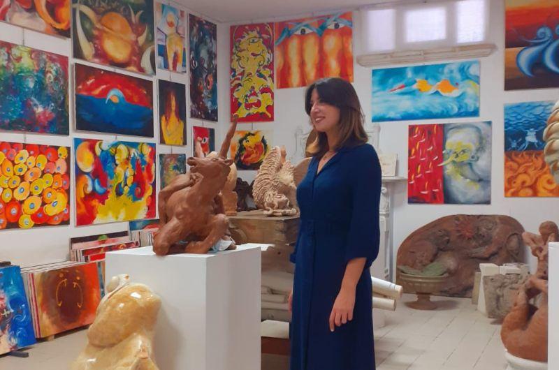 Montesano Salentino, eine Stadt und seine Künstler