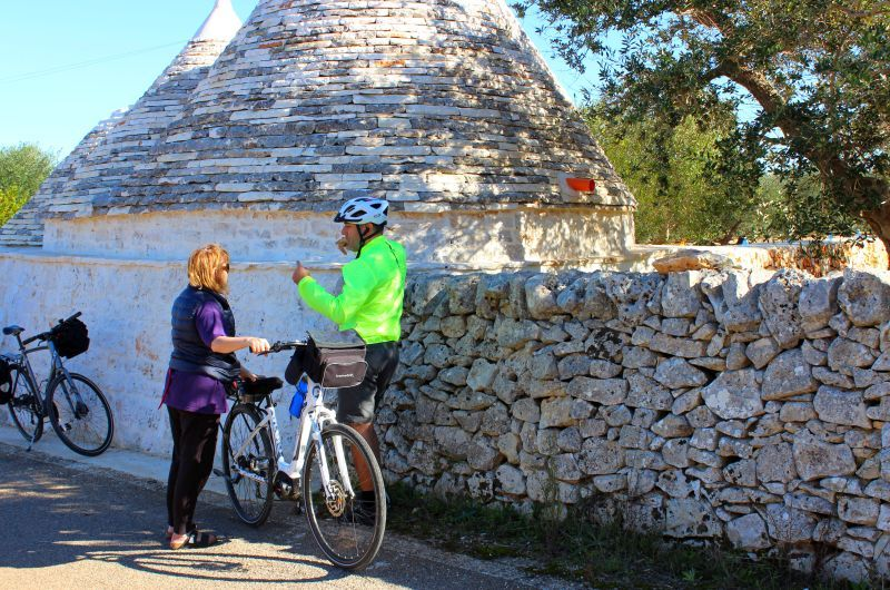 Apulien: Fahrrad, Sonne und Meeresbrise