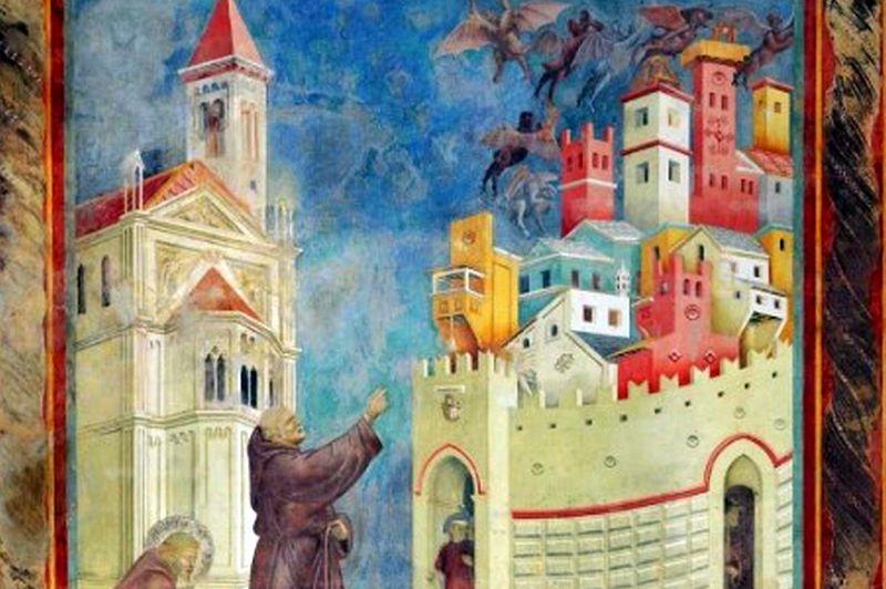 Assisi, Virtueller 360 Grad-Rundgang durch die Basilika des Heiligen Franziskus