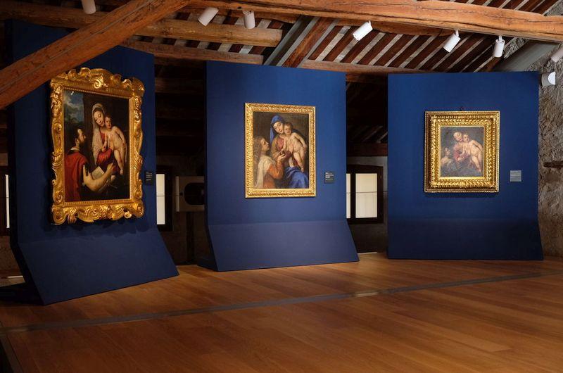 Der restaurierte Palazzo Fulcis in Belluno ist das Museum der Stadt
