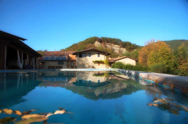 Romagna: Borgo Basino und Galeata im Tal des Flusses Bidente