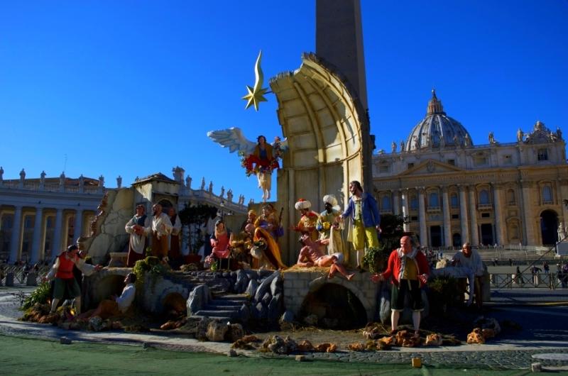 Weihnachtstraditionen in Rom