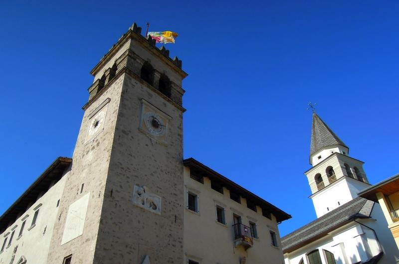 Tizian in seinem Geburtsort Pieve di Cadore