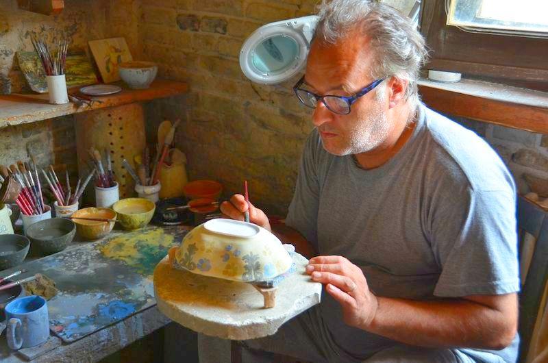 Abruzzen: Castelli, Stadt der Keramik