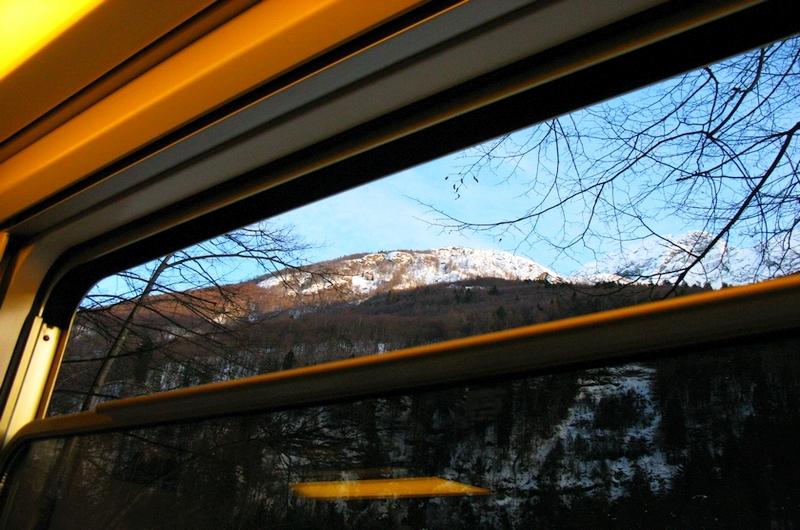 Die Centovalli-Bahn verbindet Tessin mit Piemont