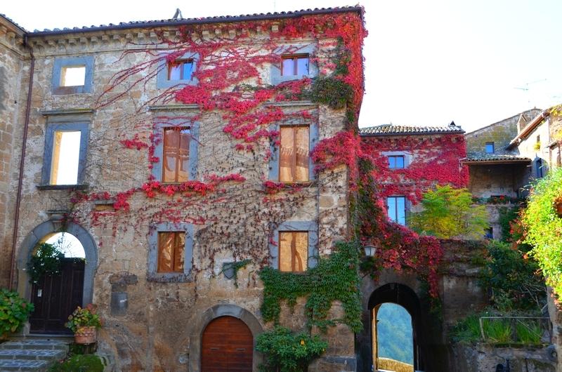 Farben voller Leben von Civita di Bagnoregio