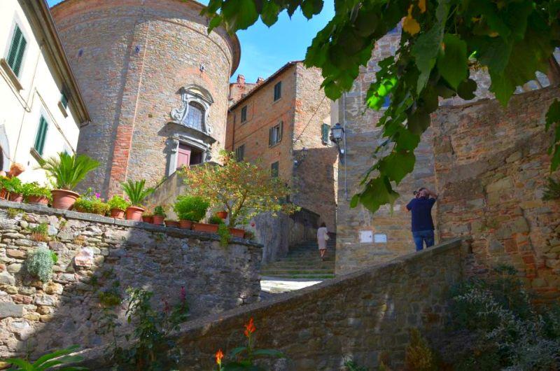 Cortona, ein Spaziergang durch die Geschichte