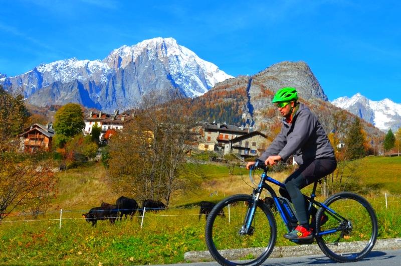 Courmayeur – Mont Blanc mit E-Bike