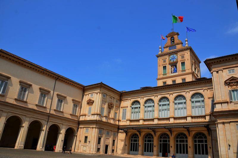 Quirinale-Palast: der ideale Beginn einer Italienreise