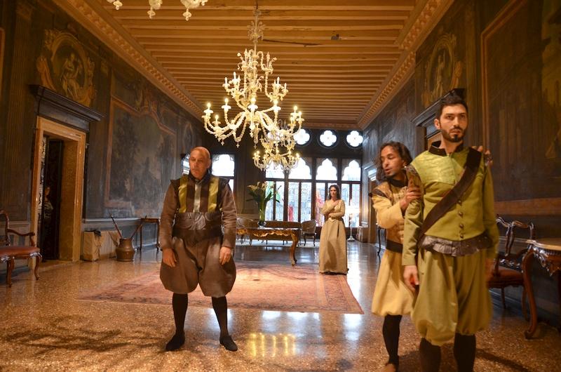 Venetische Bühnen für Shakespeare