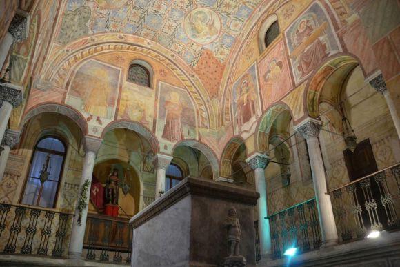 Feltre, die Wallfahrtskirche der Heiligen Vittore und Corona, Foto TiDPress