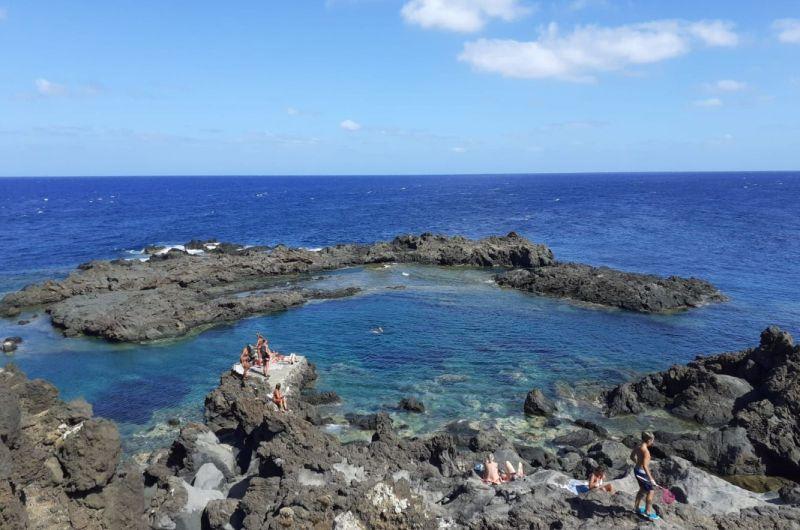 Linosa, die grüne, ruhige Insel im Mittelmeer