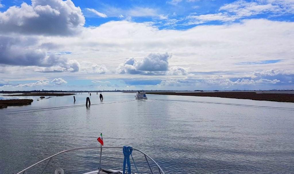 Entlang des Flusses Sile mit Kurs auf die Lagune von Venedig