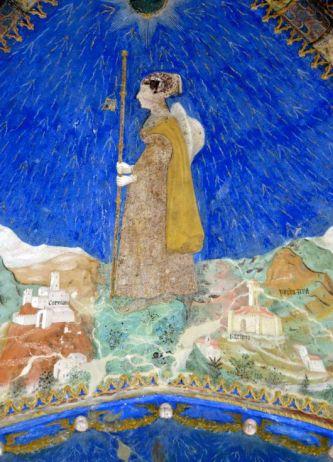 """Das Schloss von """"Torrechiara"""", Bianca Pellegrini di Arluno"""