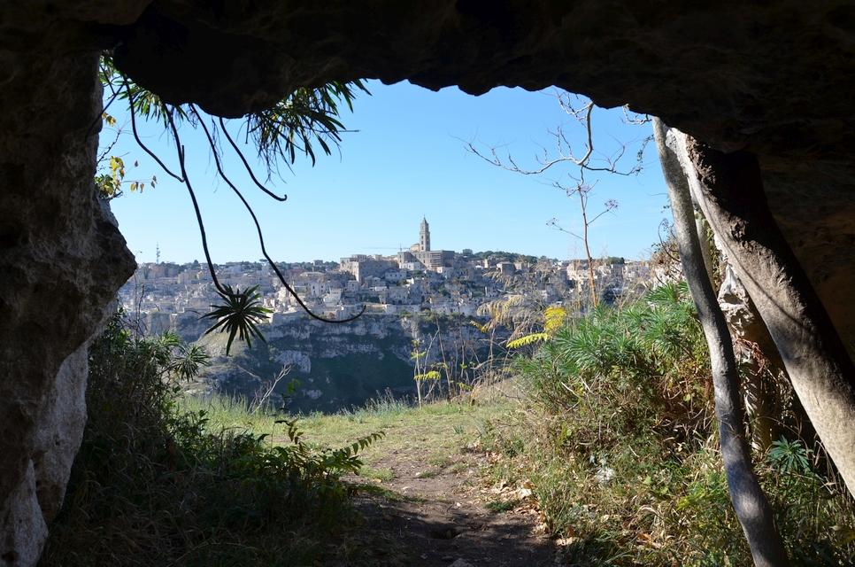 Die Höhlen von Matera