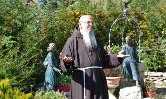 Frosolone, der Eremit Pater Luciano Proietti