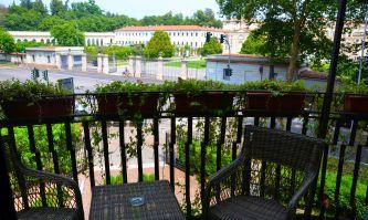 Monza, Hotel de la Ville und Könegliche Gärten