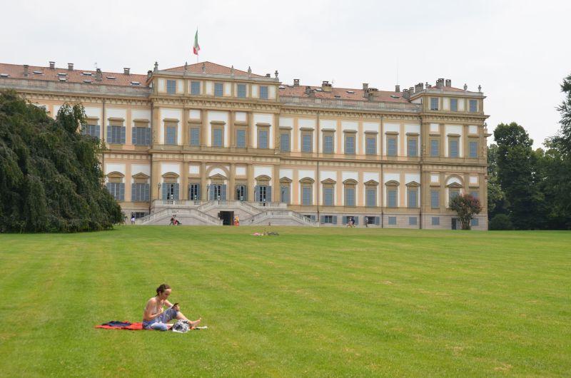 Monza, eine Stadt, die ihre Besucher verwöhnt