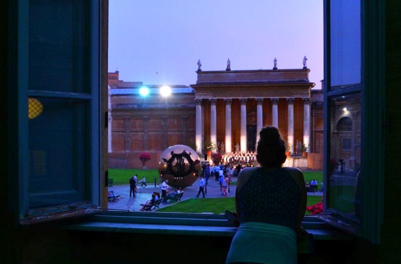 Die Vatikanischen Museen by Night