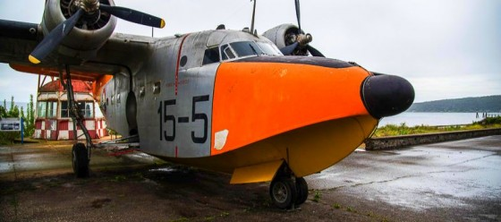 Braccianosee (Rom) , Das Museum der Luftwaffe Foto Valerio Magini