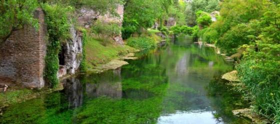 Fluss Ninfa