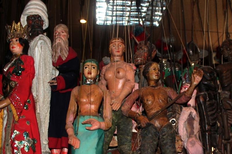 Palermo: Die 'Pupi' und ihre gloriosen Abenteuer im Internationalen Marionetten-Museum