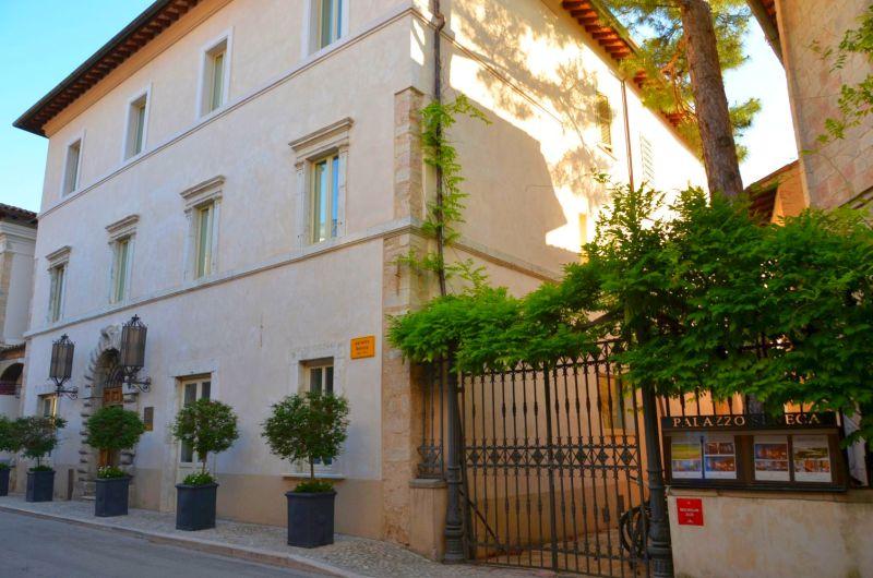 Palazzo Seneca: Das lächelnde Hotel in Norcia (Umbrien)
